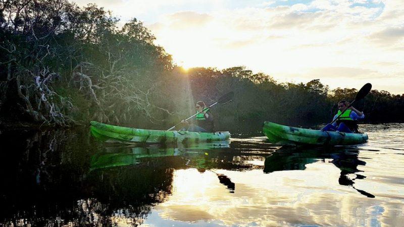Kayaking On Dusk 1024x1024